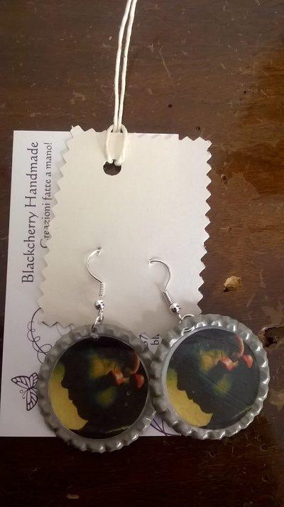 Orecchini AMELIE POULAIN - Bimba con ciliegie