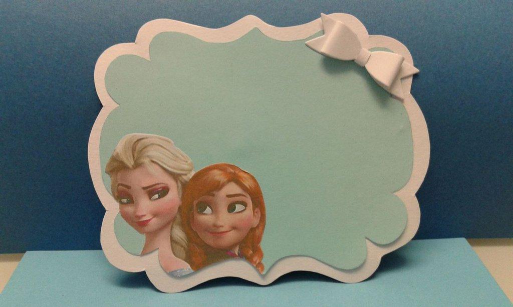 Invito Frozen Compleanno
