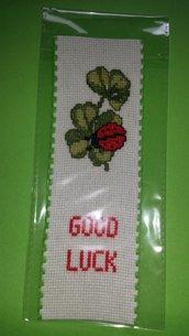 """Segnalibro """"Good Luck"""""""