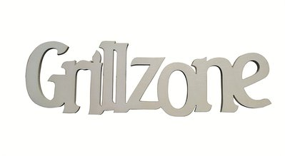 Scritta in legno Grillzone, per il fai da te decoupage, creazioni