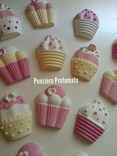 cupcake calamite profumate