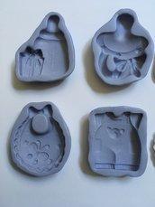 Stampo nascita in gomma siliconica