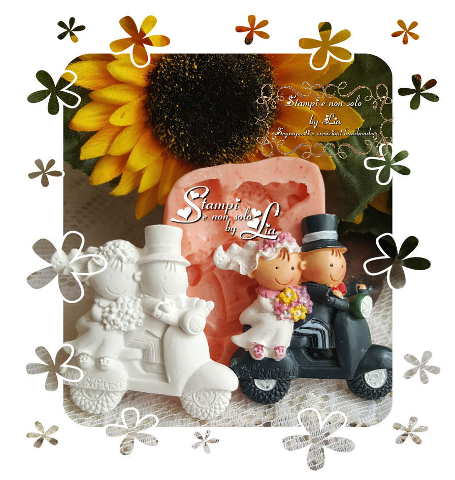 Stampo *Sposi in moto*