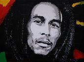 Ritratto Bob Marley pop art