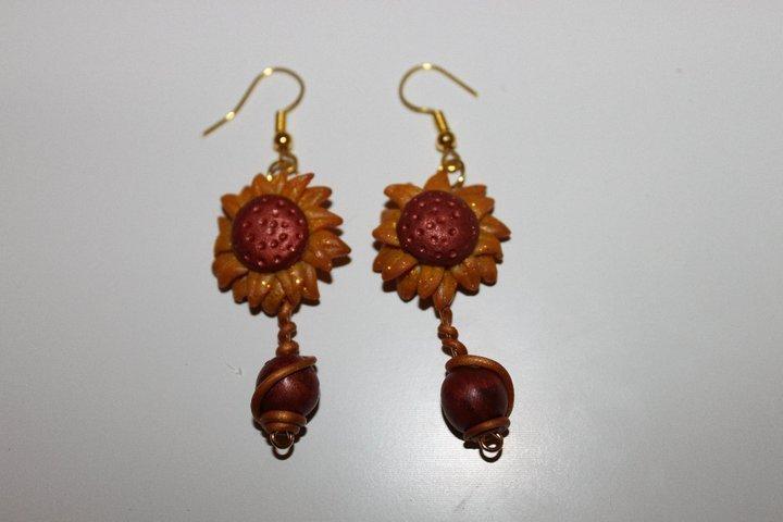 orecchini girasole