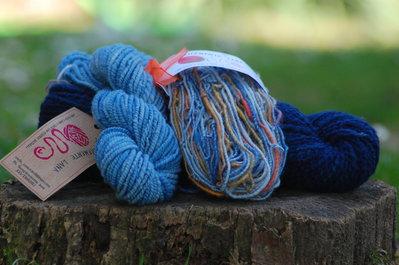 Kit di lana filata a mano
