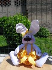Coniglietta ballerina gialla