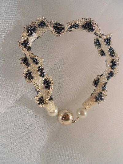 Bracciale in perline Peyote