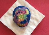 pietra decorativa multicolor
