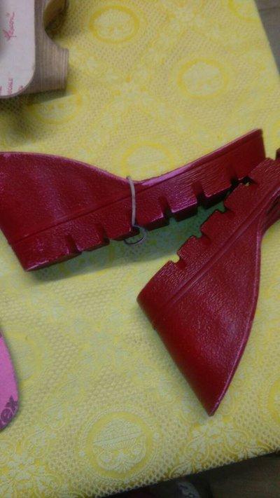 suola modello 28 rosso cm24