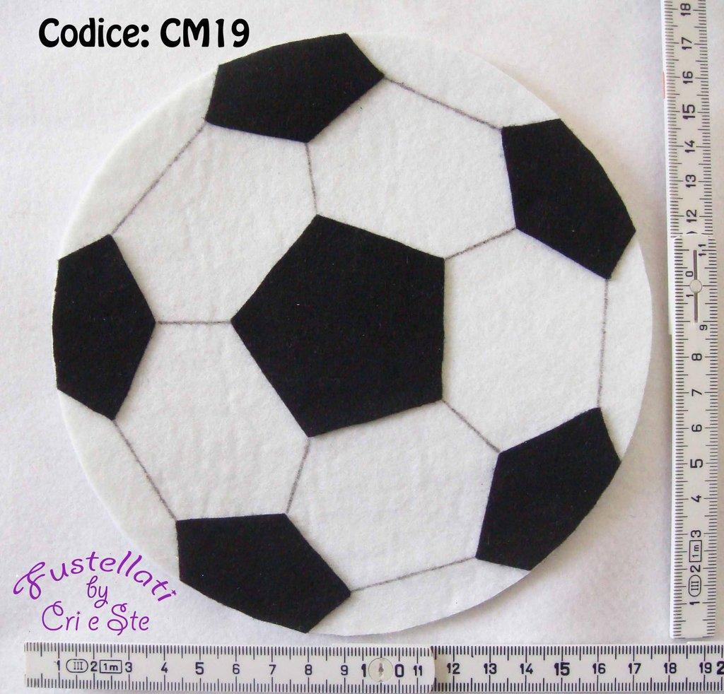 Pallone da Calcio in Feltro CM19