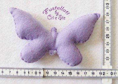 Fustellato Pannolenci Farfalla AN11P