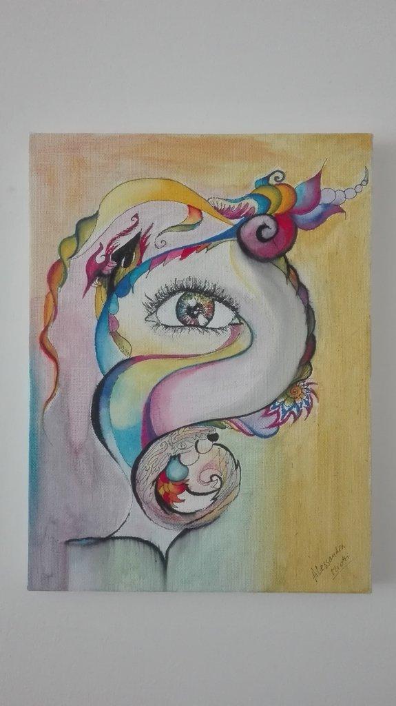 """Quadro """"allucinazioni""""  - Psy art"""