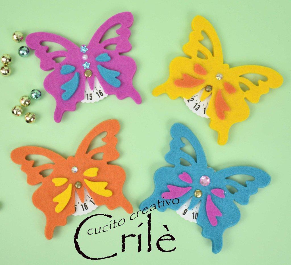 Kit Disco Orario Farfalla