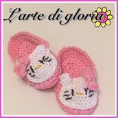 Scarpine neonata hello kitty