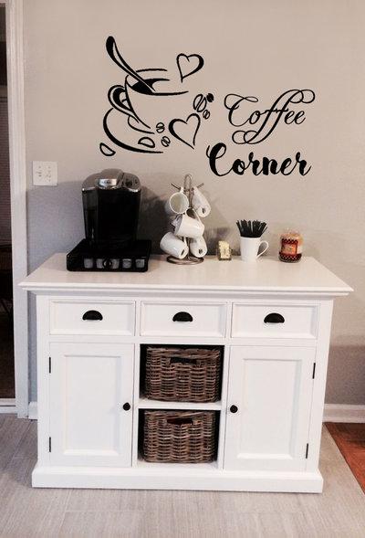 Adesivo Tazza Di Caffe Per La Casa E Per Te Cucina Di Anita R Su Misshobby