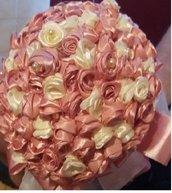Raso, Organza, bouquet