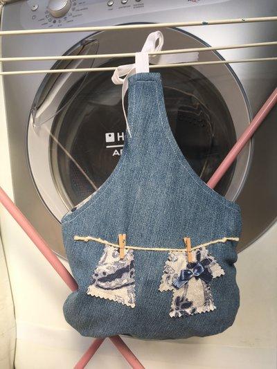 il Porta Mollette jeans