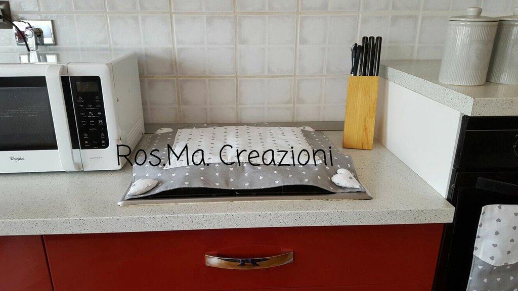 Copri Fornelli Artigianale Fatto a Mano Su Misura a seconda del vostro fornello
