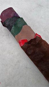 Pack di 10 pelli con stampa cocco in alcuni punti A360