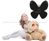 La Farfalla Lavagna adesiva da muro