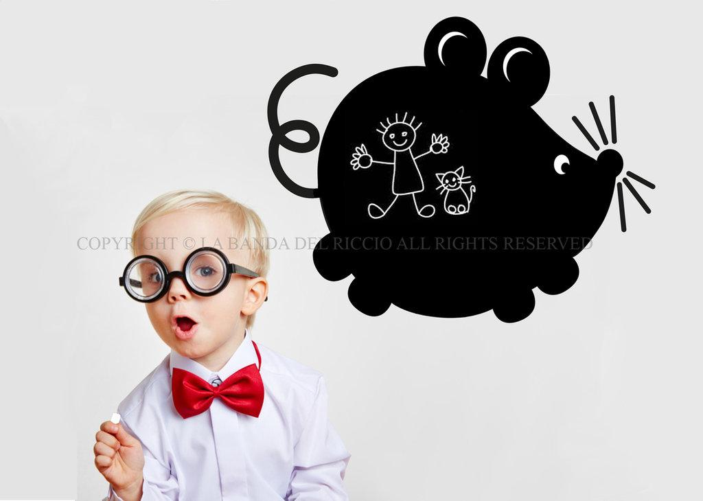 Il Topolino lavagna da muro per la camera dei tuoi bambini