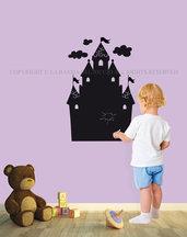 Il Castello lavagna da muro per la camera dei tuoi bambini