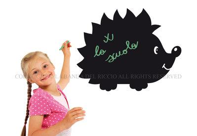 Il Riccio lavagna da muro per la camera dei tuoi bambini