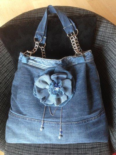 Borsa Tiziana jeans