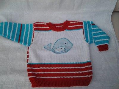 Maglioncino da bambino in cotone