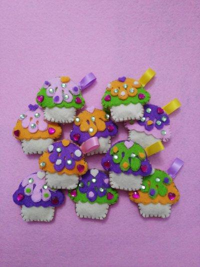 bustina Portachiavi muffin