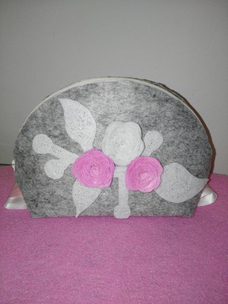 Beauty case rose