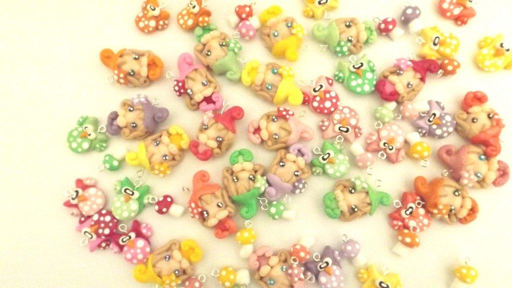 BOMBONIERA sacchetto confetti porta confetti  GUFETTO e FOLLETTO  - compleanno 18 anni diploma laurea cresima