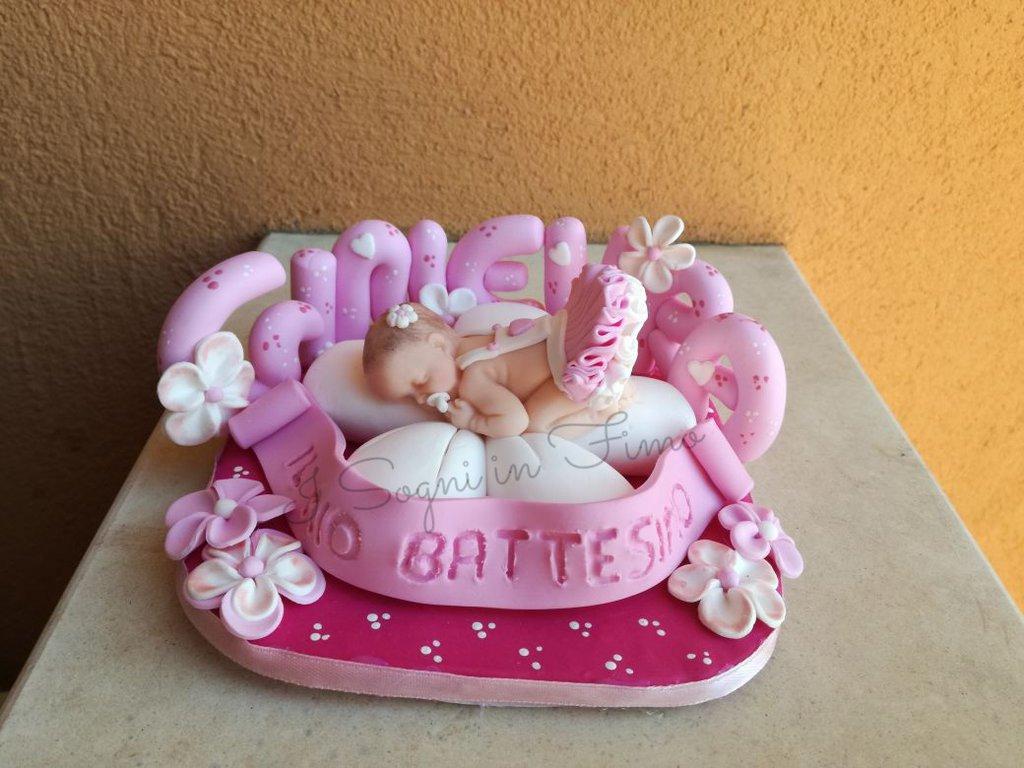 Topper cake bebè