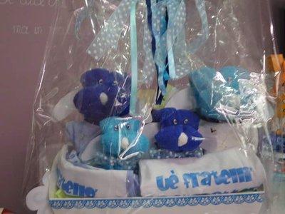 Cestino-idea regalo nascita