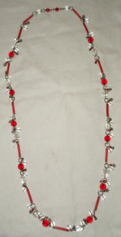 Collana grappoli di charms