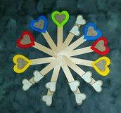 Segnalibro feltro decorato