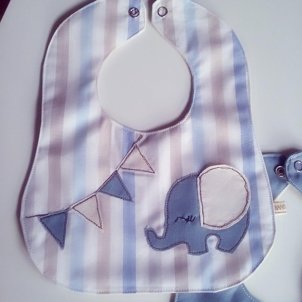 Bavetta (bavaglino) neonato (0/6 mesi)  in 100% cotone