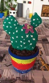 cactus di pietra grande 27 cm