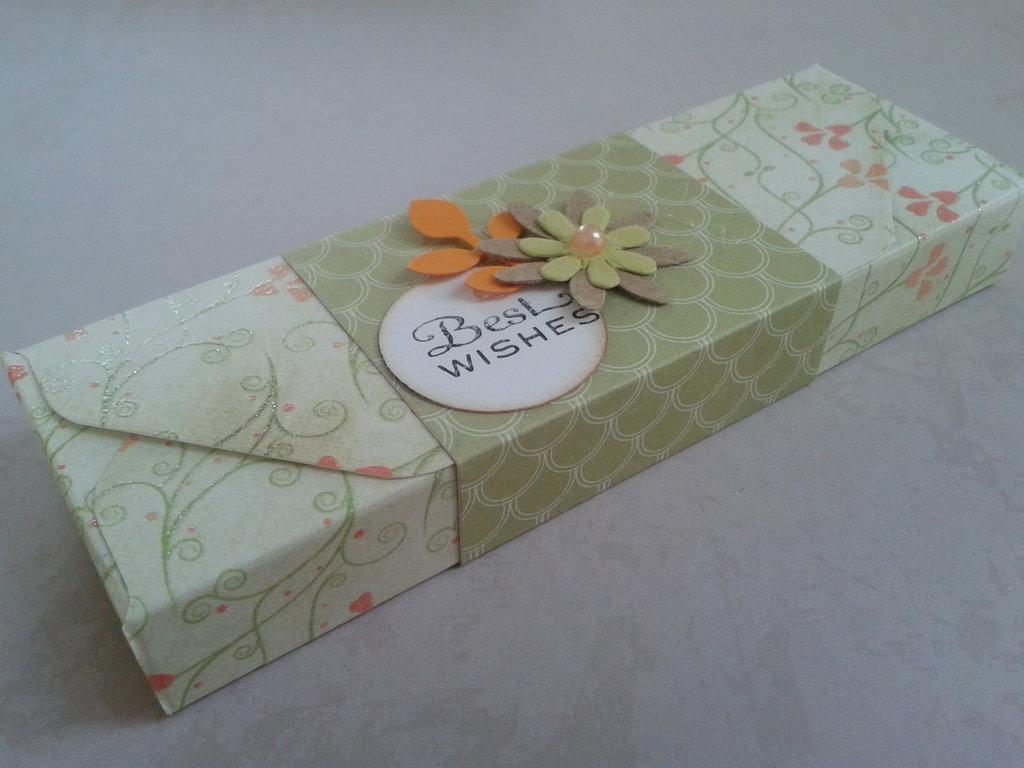 Scatolina bomboniera porta candele o piccoli regali