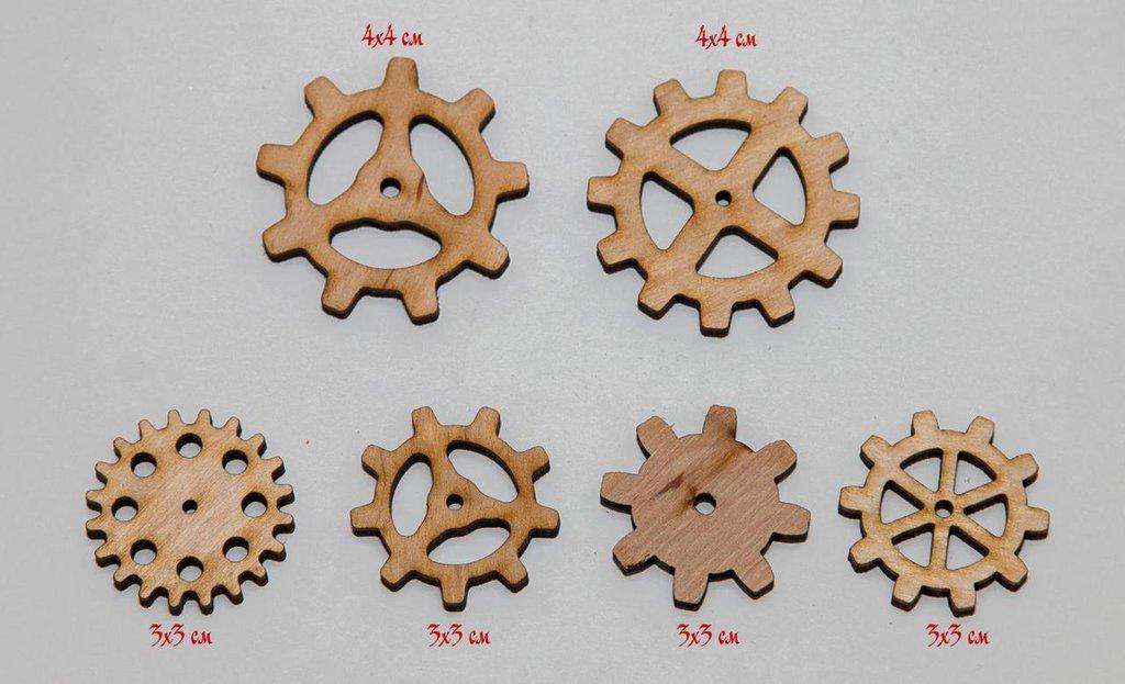 Set di ingranaggi decorativi