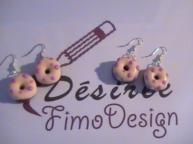 Orecchini donuts