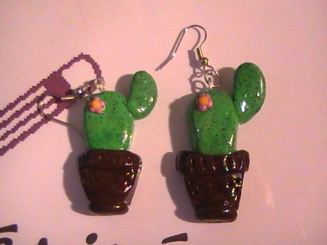 Orecchini cactus