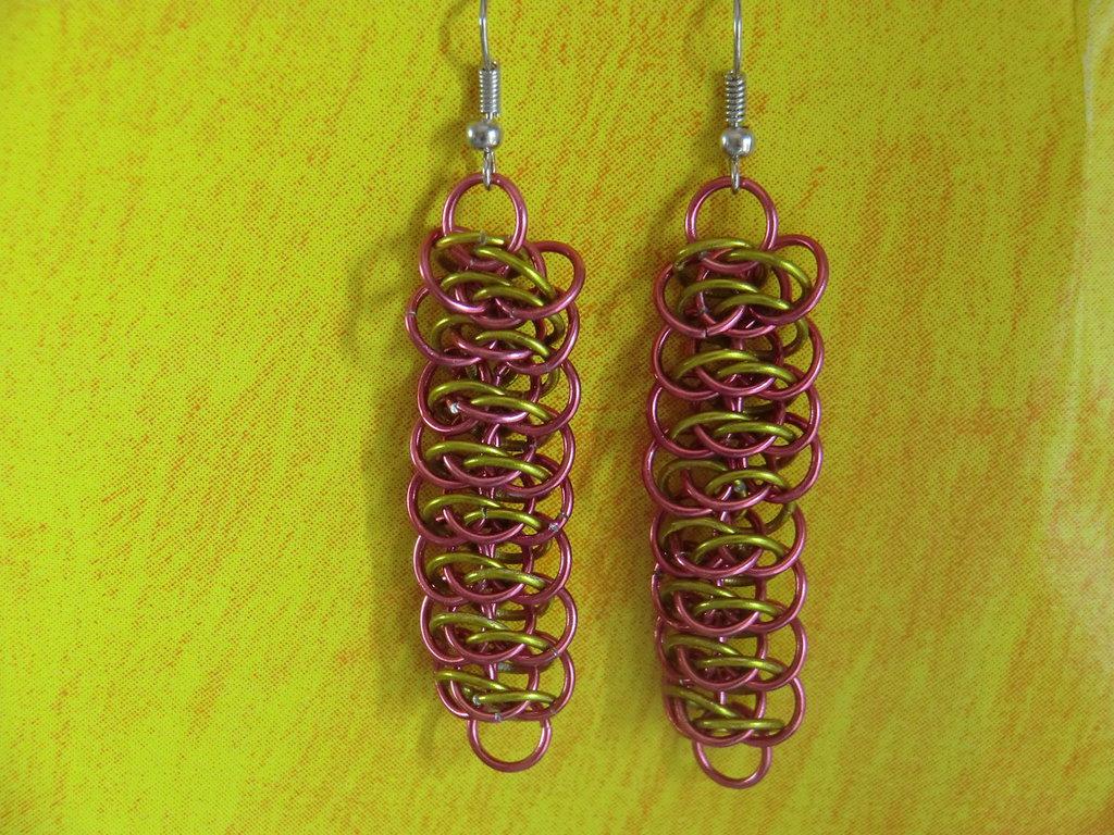 Alumiun Viper's Earrings