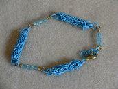 Bracciale copper wire e cristalli