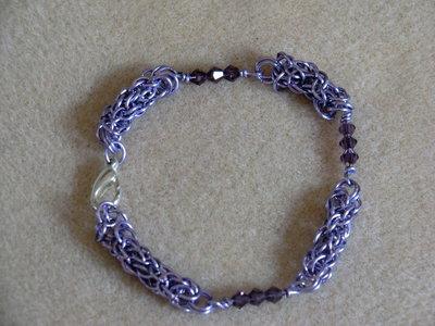 Bracciale copper wire e cristalli swarosky