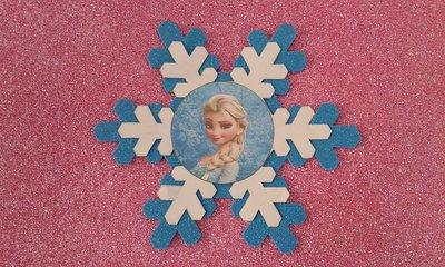 Invito Fiocco di Neve Frozen