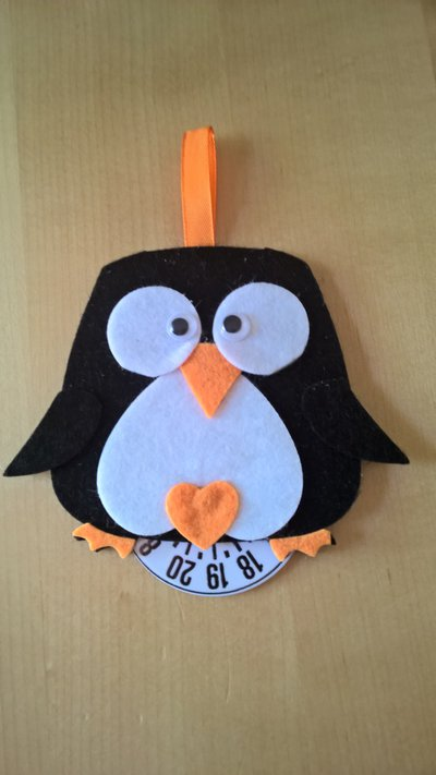 Disco Orario Pinguino Idea Regalo Bomboniere