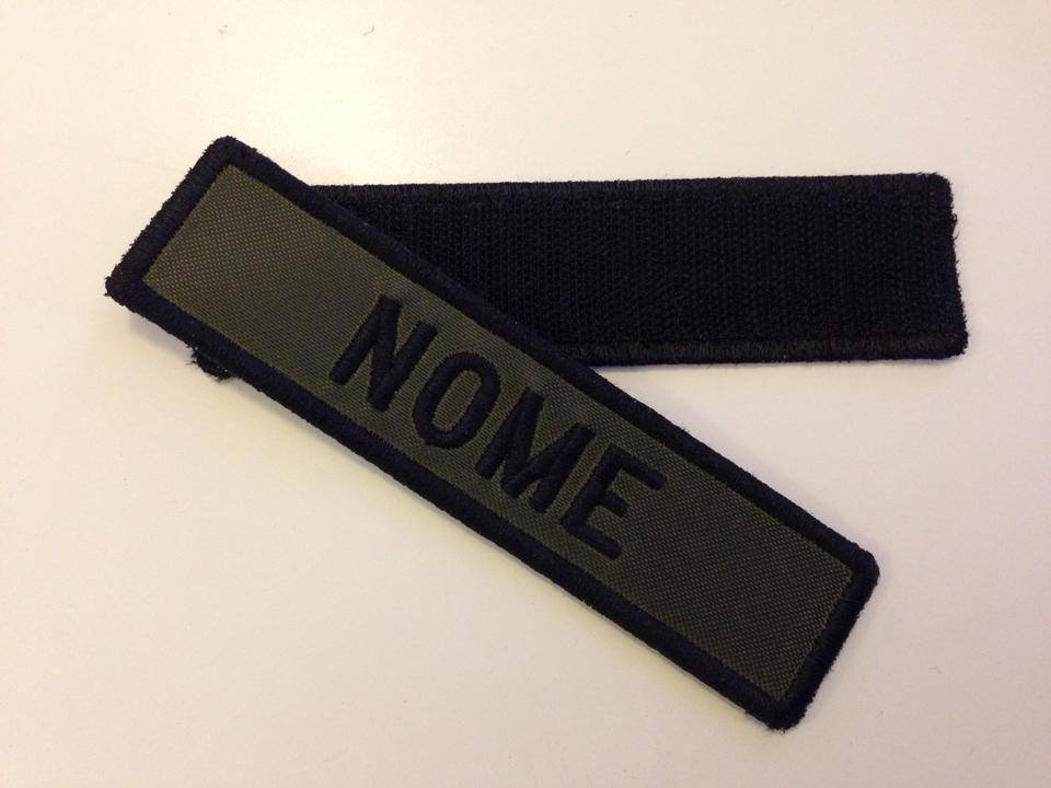 PATCH NOME VERDE MILITARE