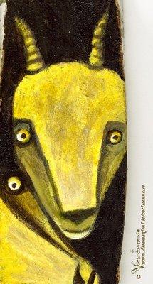 YELLOW GOATS- A4 Illustration